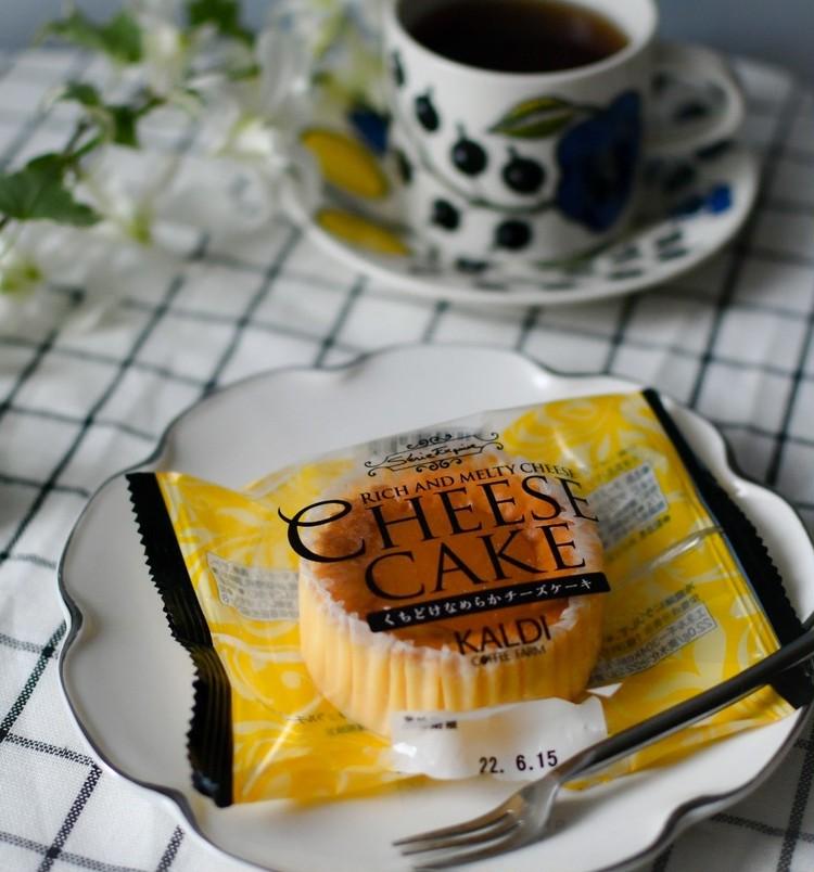 【カルディおすすめスイーツ】くちどけなめらかチーズケーキ
