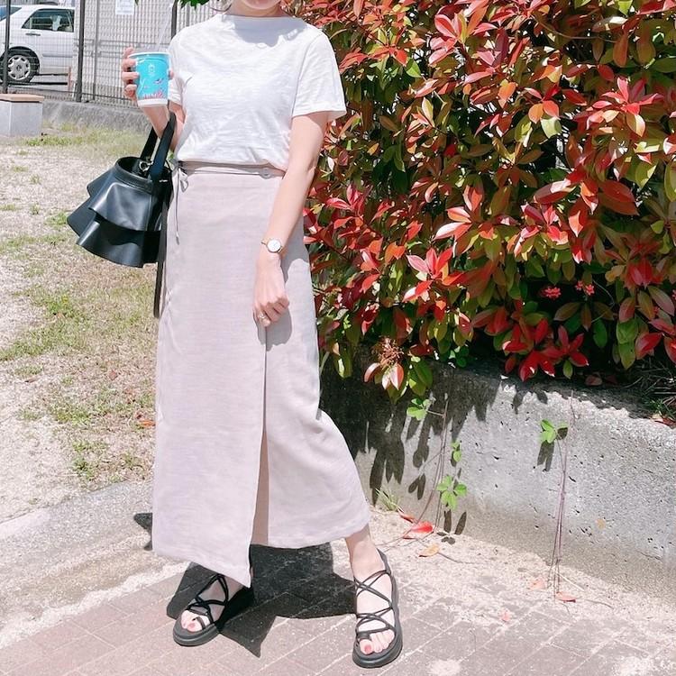 GUのスポサンが大活躍!そして、暑い日はやっぱり、白Tシャツ_4