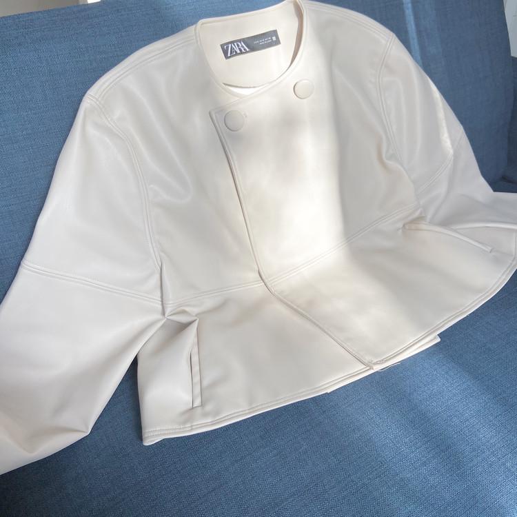 【ZARA】完売まちがいなしのザラ春物!新作ジャケットはかわいさとスタイルアップ抜群です【155cmコーデ】 _2