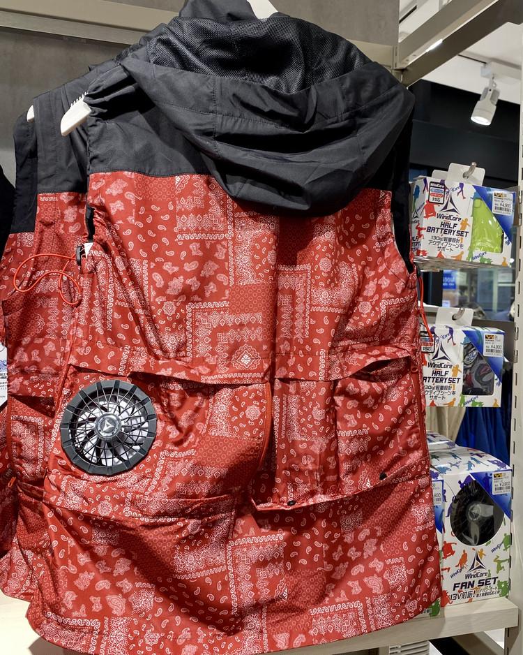 【ワークマン(WORKMAN)】2021年春夏レディース向けおすすめ新作12種26選を「 #ワークマン女子 東京ソラマチ店」でスクープ 着る扇風機 WindCore(ウィンドコア)シェルベスト