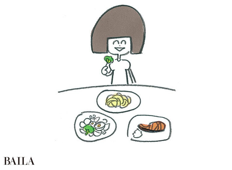 【NO!糖化習慣2】「ベジファースト」の食べる順で血糖値を急上昇させない