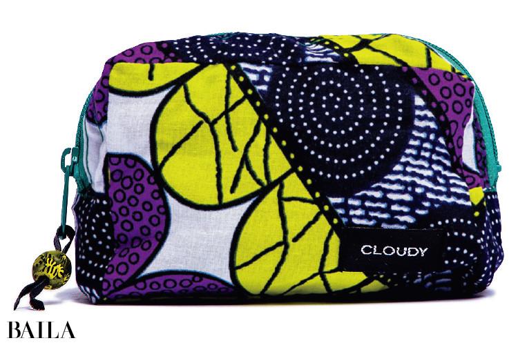 自分の買い物がアフリカの 支援になる「CLOUDY」