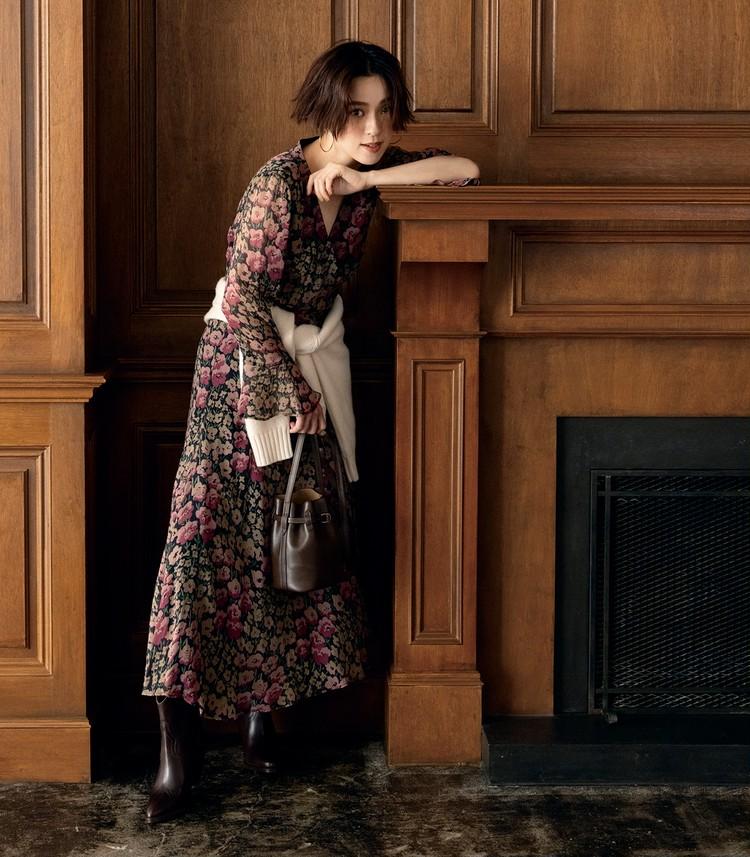 【旬カラーで洗練スタイルをかなえる】ポロ ラルフ ローレンの上品ブラウン&モダングレー_1