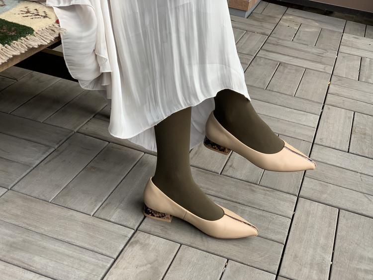 BAILA付録のブラウンタイツと手持ちの靴を合わせてみた!_3