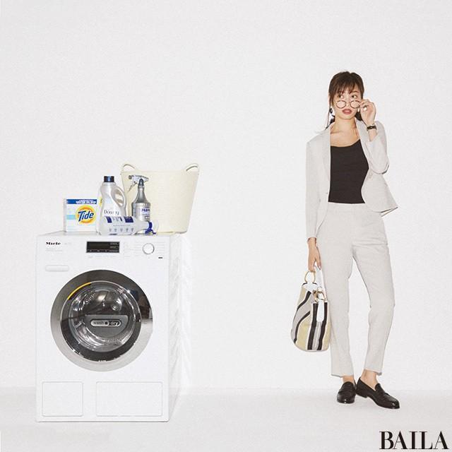 洗濯機でまるっと洗える! 【こなれ通勤スーツ】5選_1