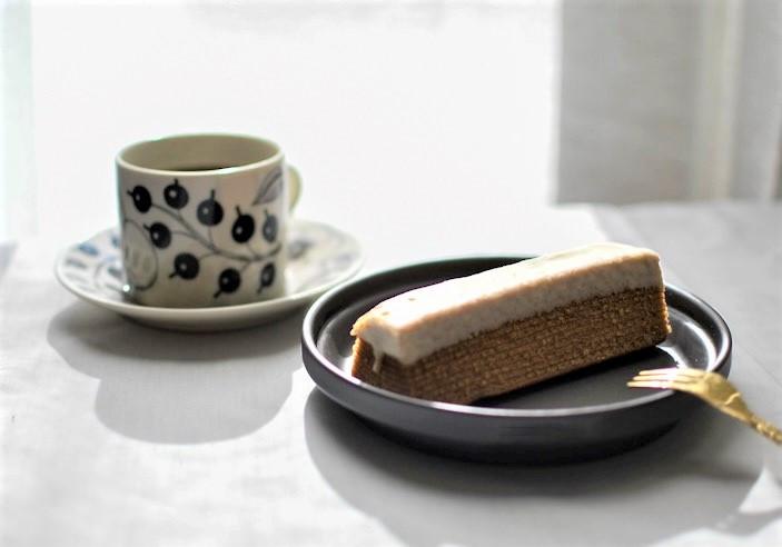 【無印良品】「不揃いバウム」ホワイトチョコがけ紅茶バウム
