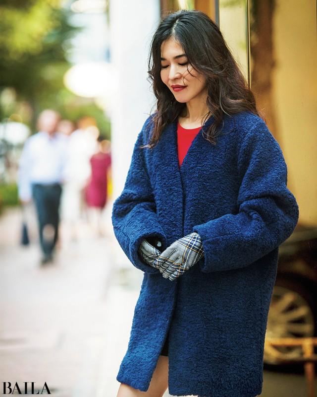 スタイリスト辻直子さんの今年のコートスタイルを私服で拝見_1_2