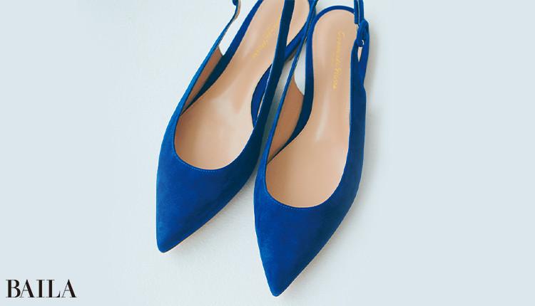 瑠璃色【るりいろ】靴¥89000/ジャンヴィト ロッシ ジャパン(ジャンヴィト ロッシ)