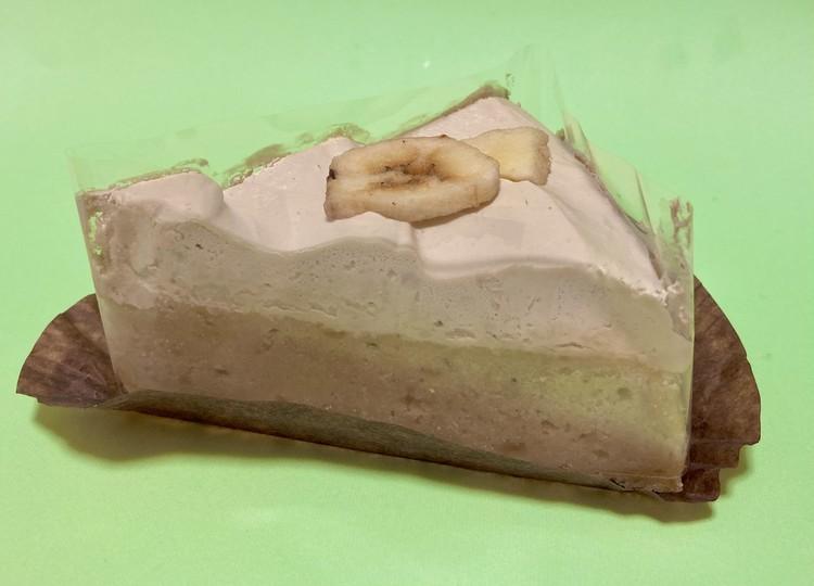 バナナのアーモンドミルクケーキの外観