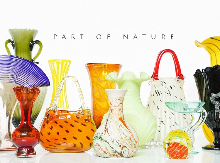 PART OF NATURE POP UP STOREで花器やオブジェを