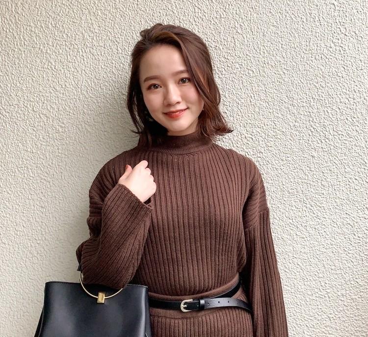 150cmコーデ_石本愛衣_BAILA