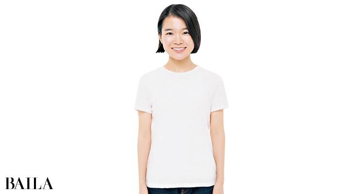 セオリーのTシャツを編集Mが試着