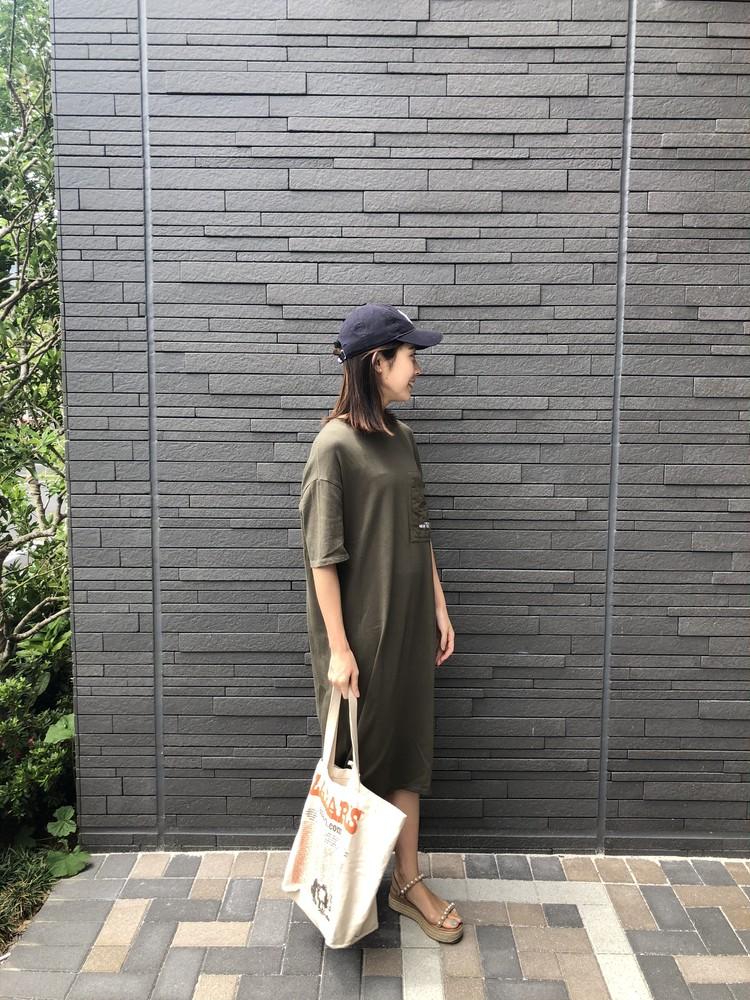 《ZARA online sale》でお得にget♡おうち時間のTシャツワンピ_3