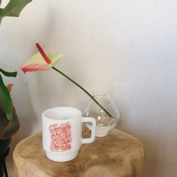 これで白湯を飲む女になる(なりたい)。Shogo Sekineさんのミルクマグ【30代に幸せをくれるもの vol.56】_1