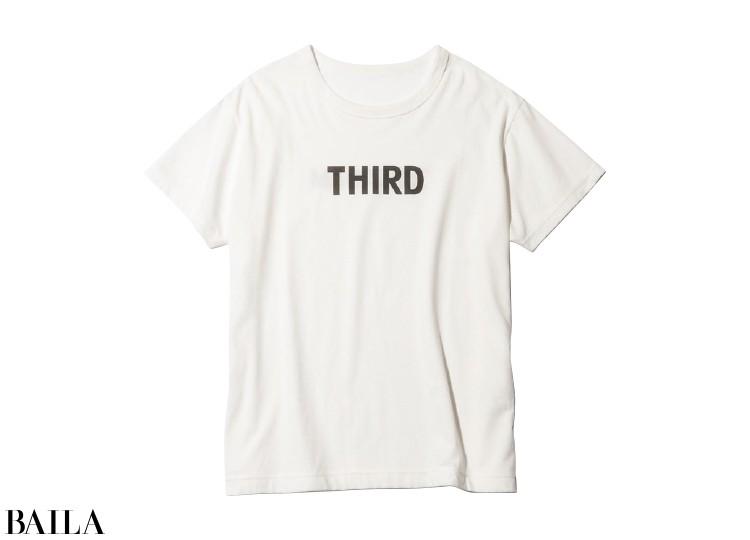 Tシャツ(白)¥9500/サードマガジン