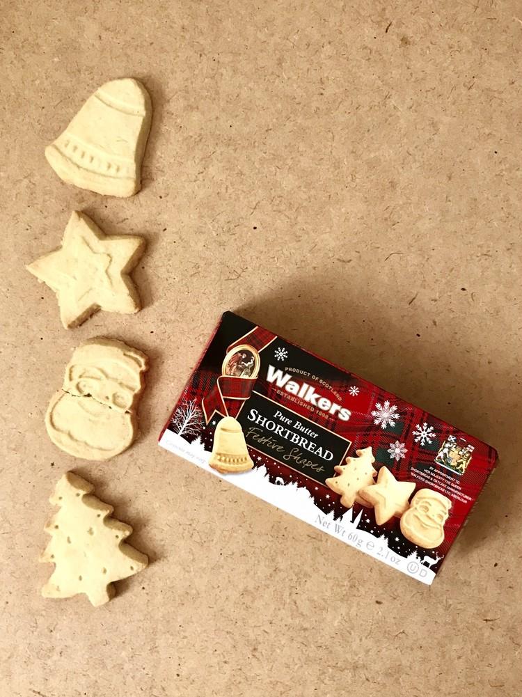 【カルディ(KALDI)】おすすめお菓子(ウォーカーのクリスマス限定ショートブレッド)
