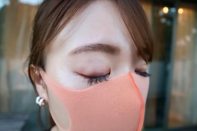 【マスクメイク】半額で買ったモテライナーでピンクeye♡_4