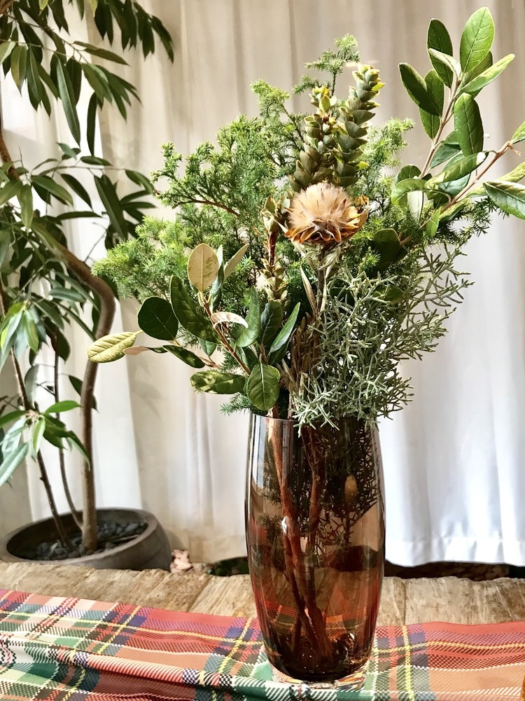 ZARA HOME(ザラ ホーム)のクリスマス向けガラス花瓶