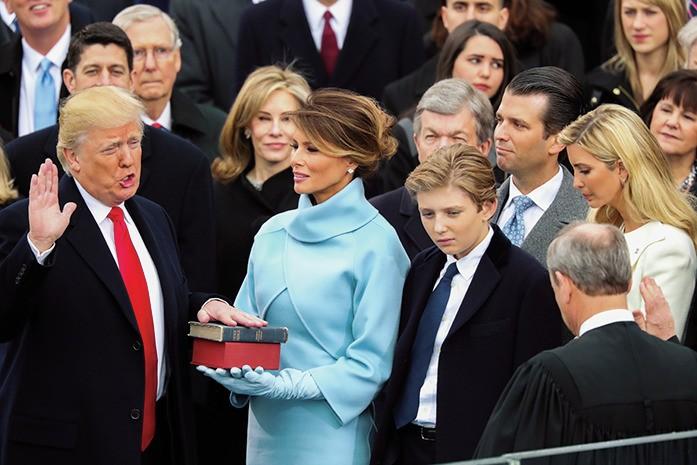 【画像】トランプ大統領の息子バロンの成長ぶりが半端じゃない!_2