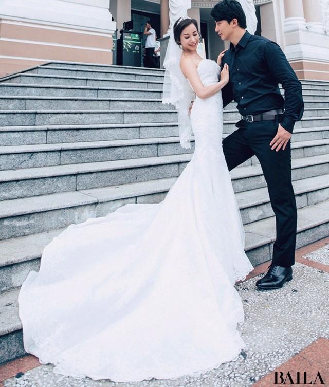 【スーパーバイラーズの花嫁ルポ】10年たっても絶対素敵な花嫁姿を拝見! _4