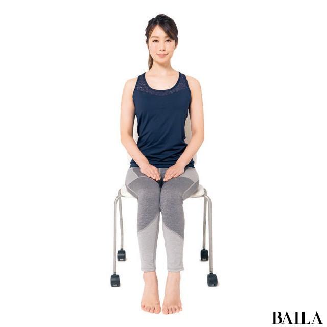 オフィスでできる!3筋肉を鍛えて姿勢美人【姿勢で-2kgヤセ見え⑨】_1_1