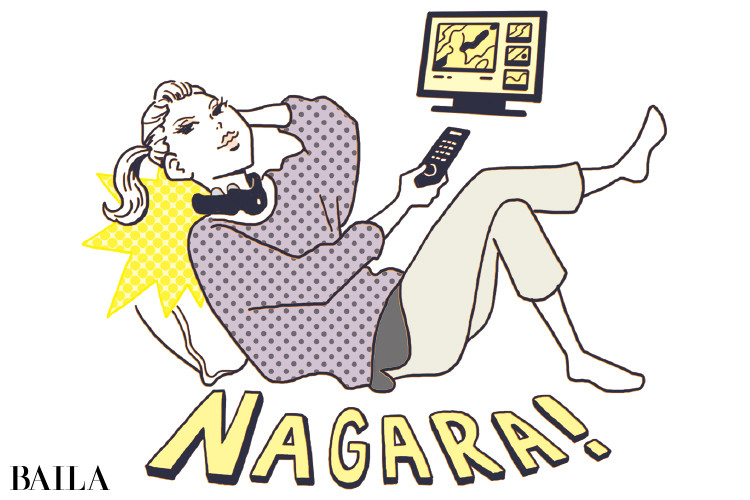 TV・動画を見ながら