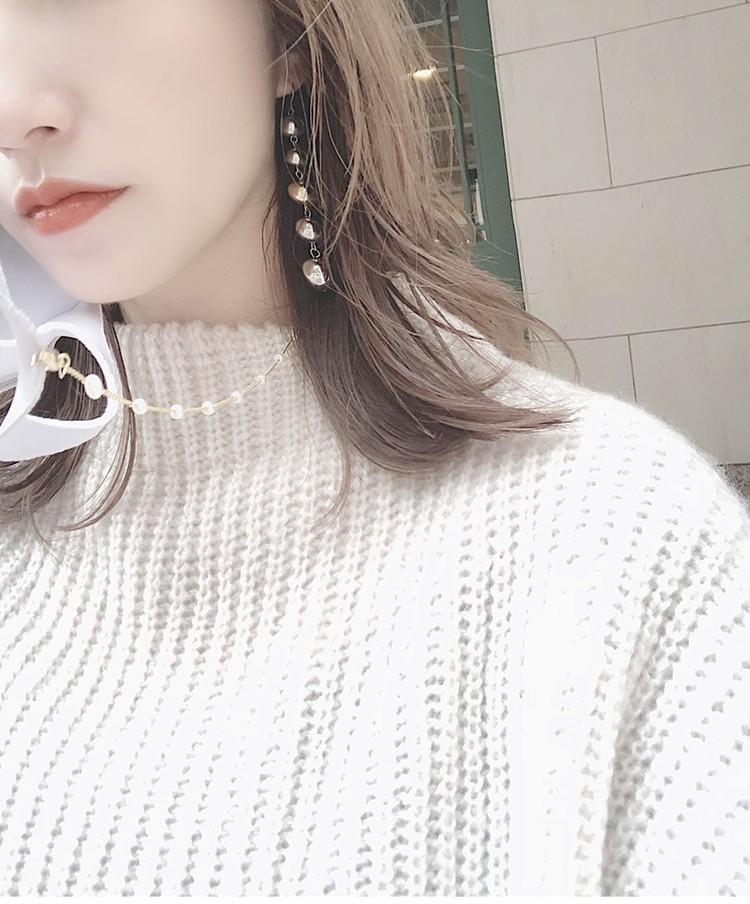 【韓国で大人気♡】オシャレで便利なマスクチェーン♡_3