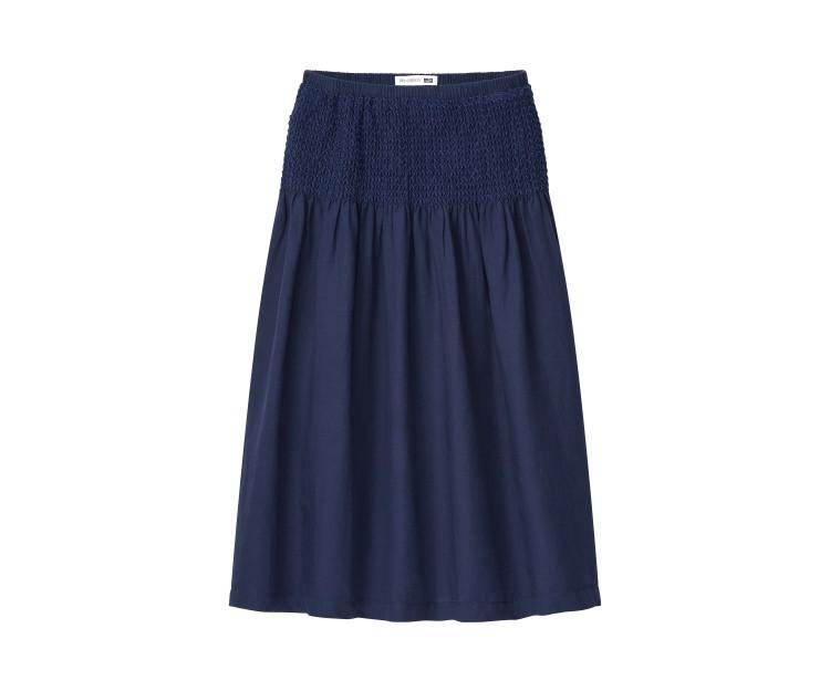 スモッキングスカート¥3990