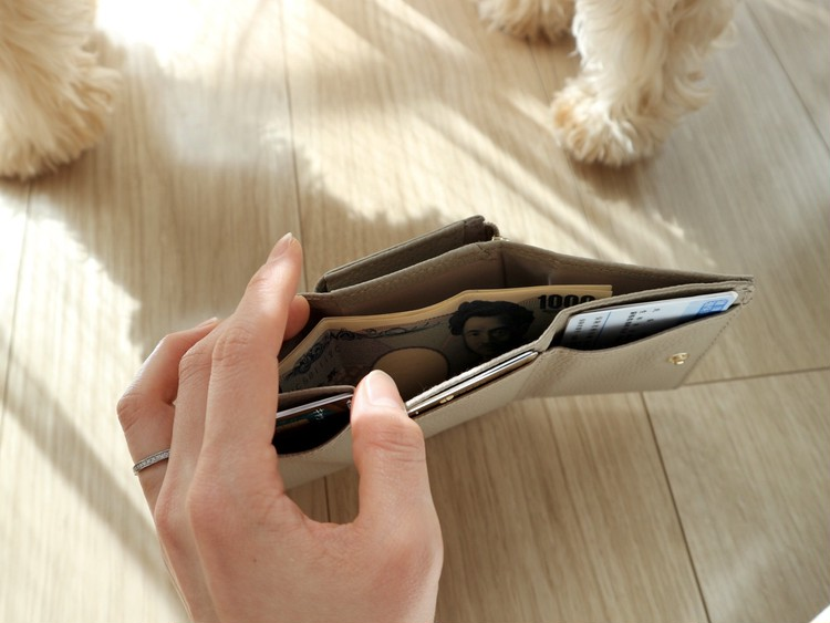 4月号付録>>可愛いだけじゃない!使いやすいミニ財布が良き♡_5