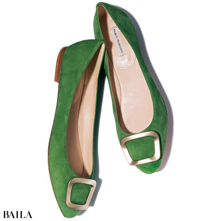 ファビオ ルスコーニの靴