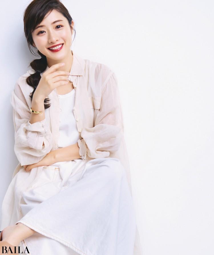 【石原さとみさんインタビュー】女子憧れ美女のライフスタイルを深掘り!_1