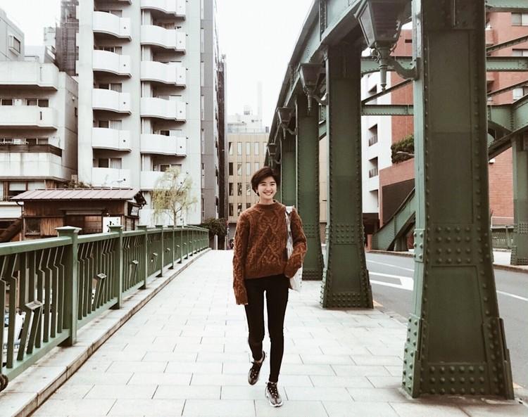 [マニッシュコーデ]×プチプラ最強スキニー×ブラウン_2