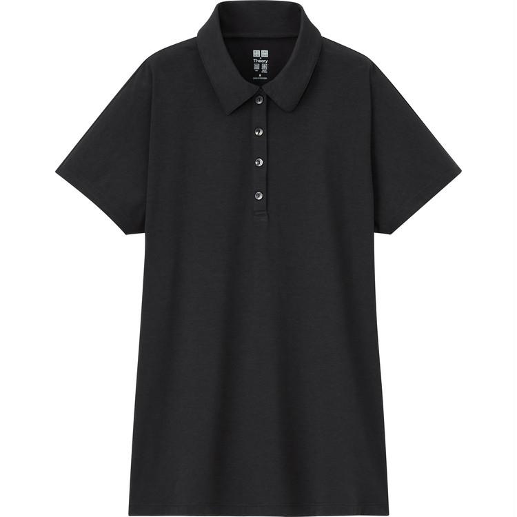 エアリズムAラインポロシャツ(半袖) ¥1990