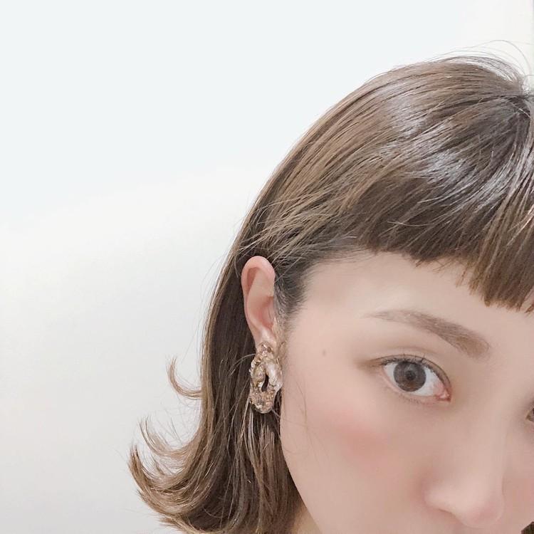 前髪バッサリで夏の前髪スタイル_2