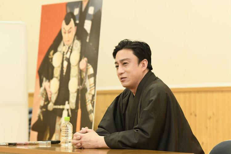 四月大歌舞伎の合同取材会の松本幸四郎さん