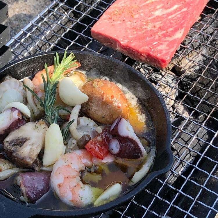 晴れた日は、BBQをおしゃれに楽しもう!!_3