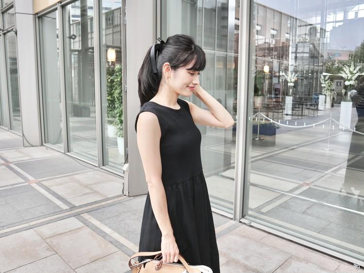 【GU】990円SALEワンピが夏→秋まで使える!_2