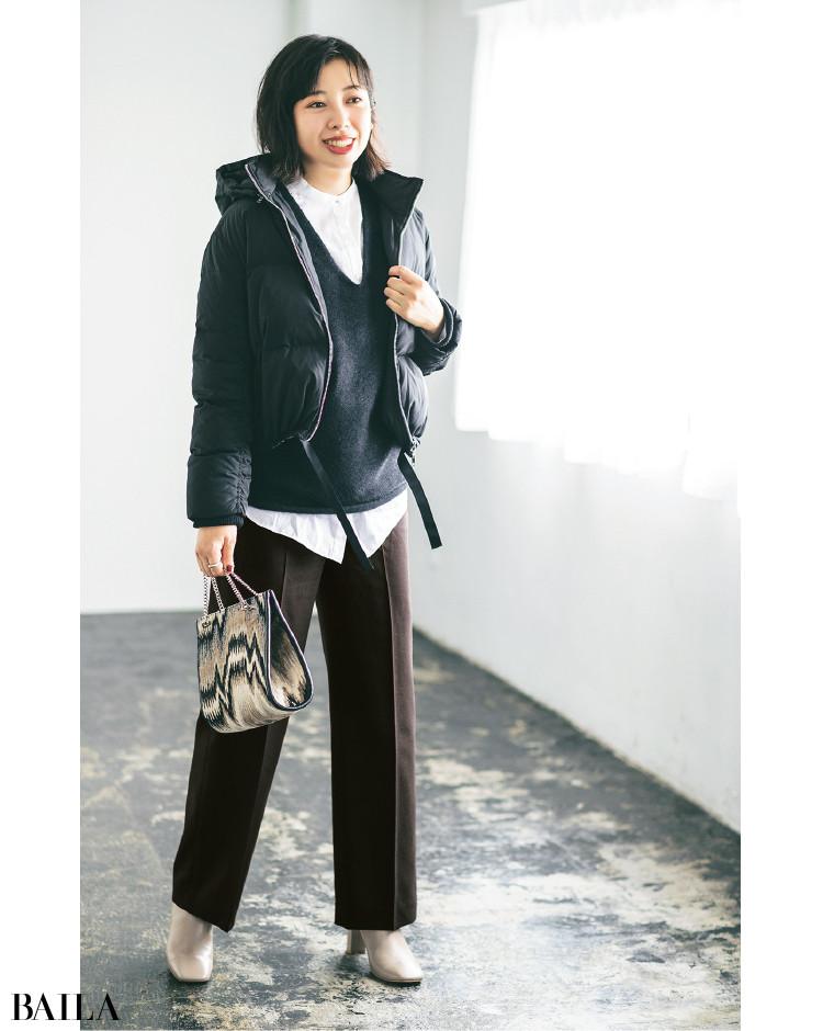【30代スタイリストが私服でアンサーまとめ】リアルだから役に立つ。その冬服はもっと素敵に着られる!_2