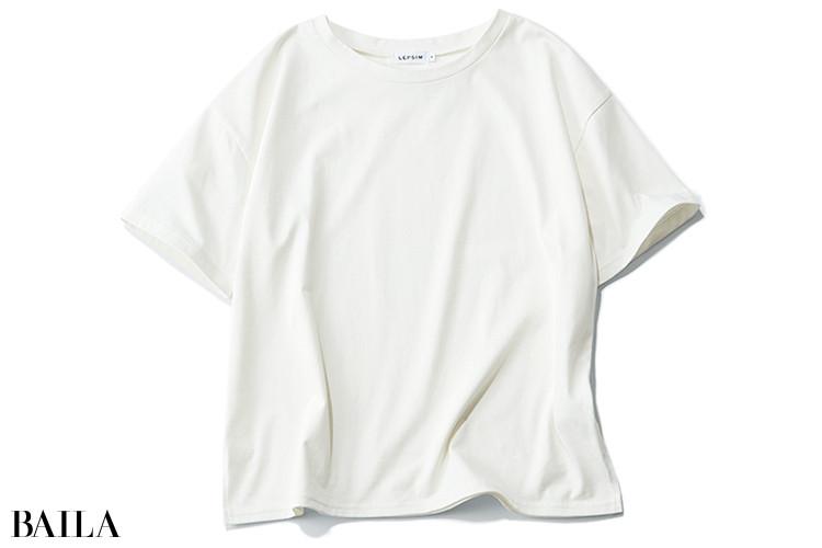 レプシィムのシンプル白Tシャツ