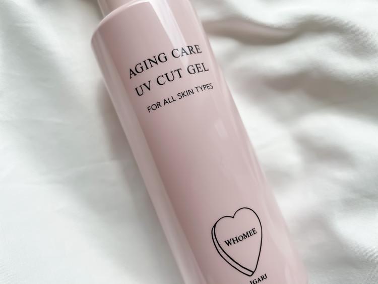 30種類以上の美容成分を配合した「エイジングケア UVカットジェル」。