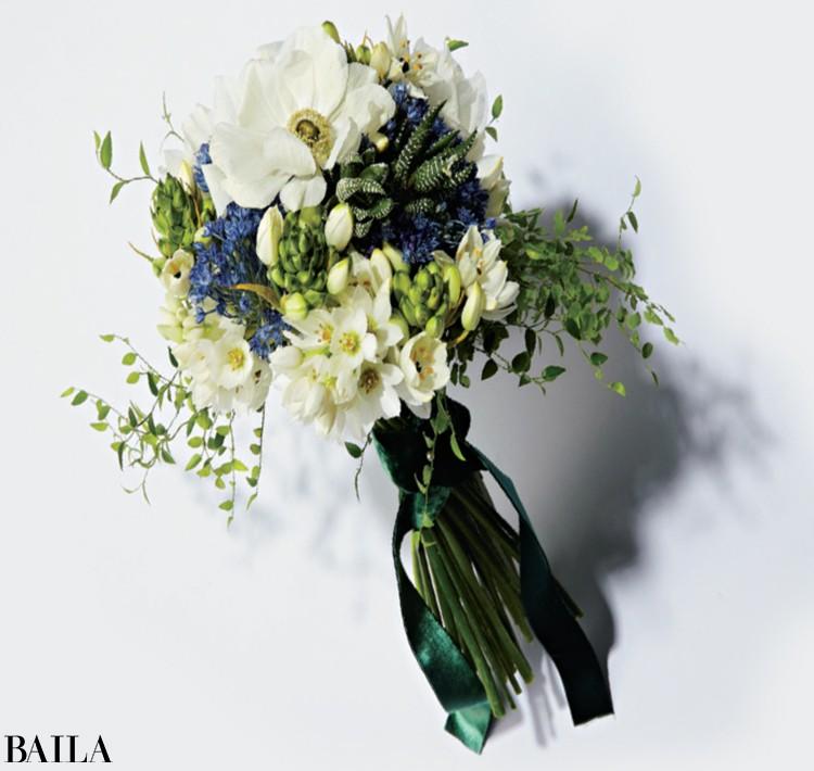 個性的な花や色合わせで ほかとはひと味違うブーケを実現