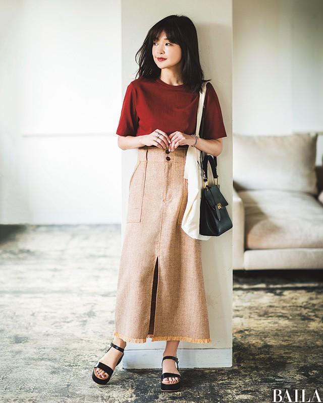 【人気スタイリスト直伝】シンプル服でもほっそり見せる真夏の6大おしゃれ術_1_5