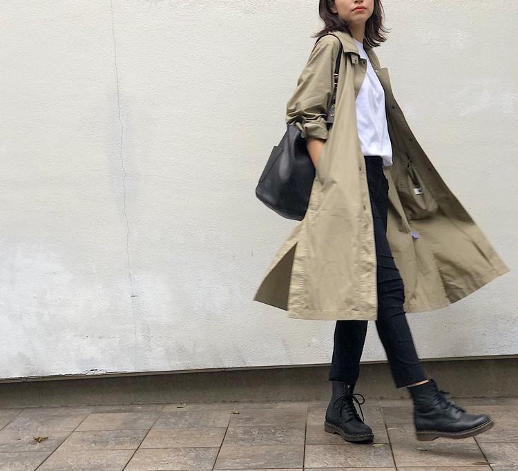 再販で入手!【UNIQLO U】春に即完売した薄軽コート(¥7990)_7