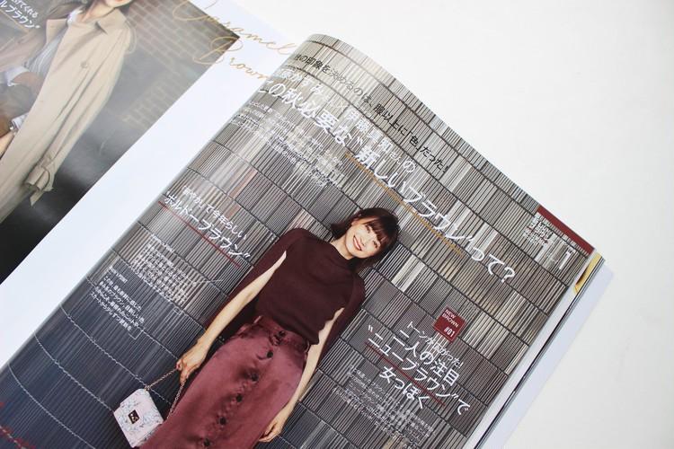 秋のマストアイテム♡GUフェイクレザースカート×白シャツ〈ブラウンコーデ〉_5