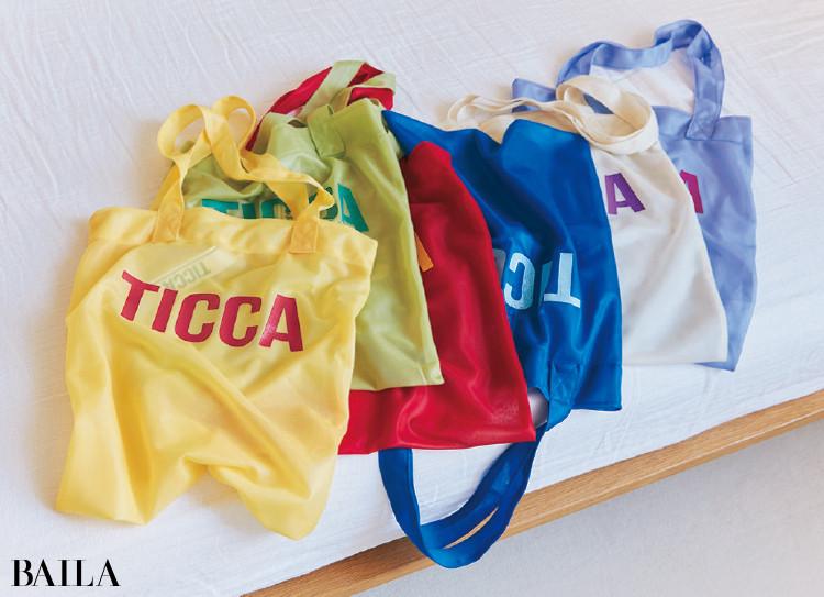 伊藤真知さんの私物 ティッカのエコバッグ