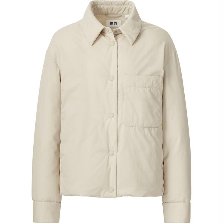 パデットシャツジャケット ¥7,990