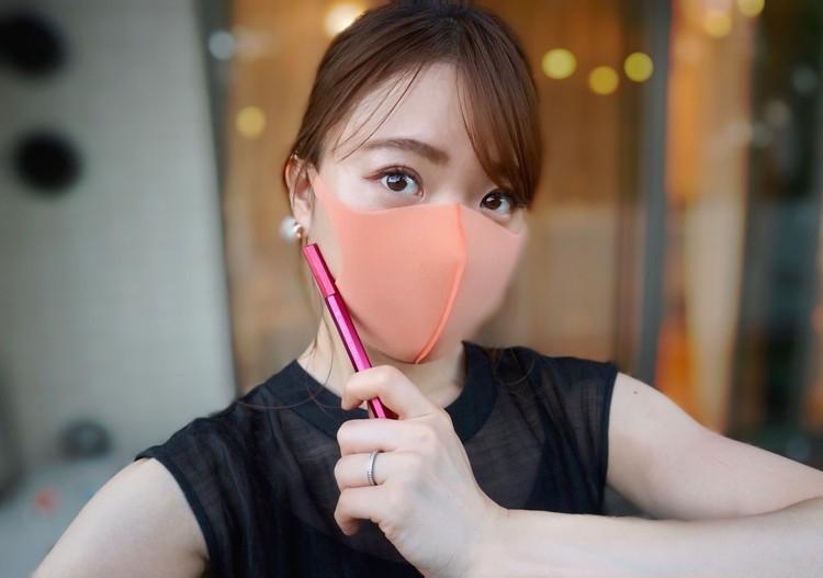 【マスクメイク】半額で買ったモテライナーでピンクeye♡_6