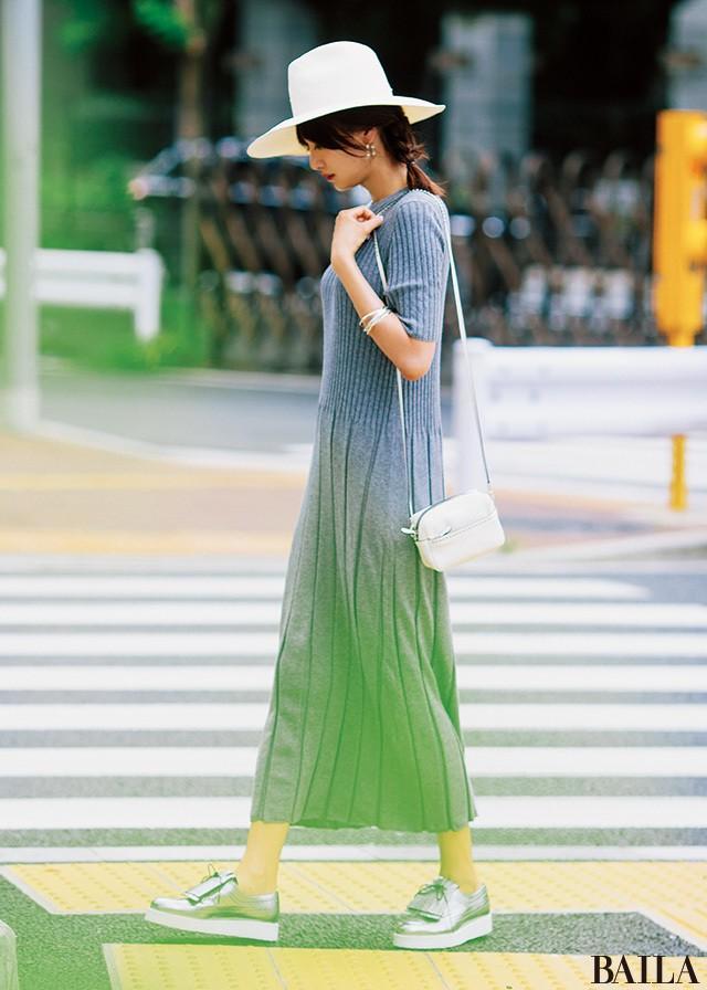 着るだけで女っぽさ3割増し♡ ヨンアの秋先取りワンピースガイド_2_3