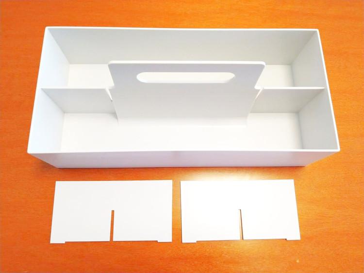 空のキャリーボックス