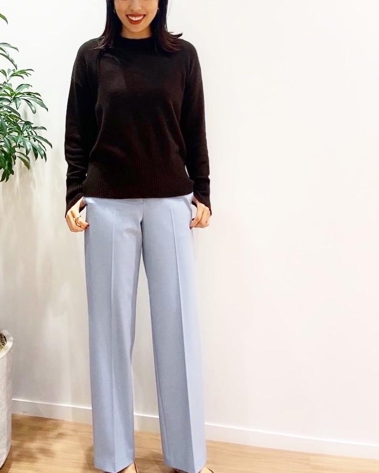 【美脚コーデ】着痩せ大賞で話題のPLSTパンツを履き比べ大会!_2